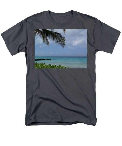Men's T-Shirt  (Regular Fit) featuring the photograph Grand Turk by Lois Lepisto