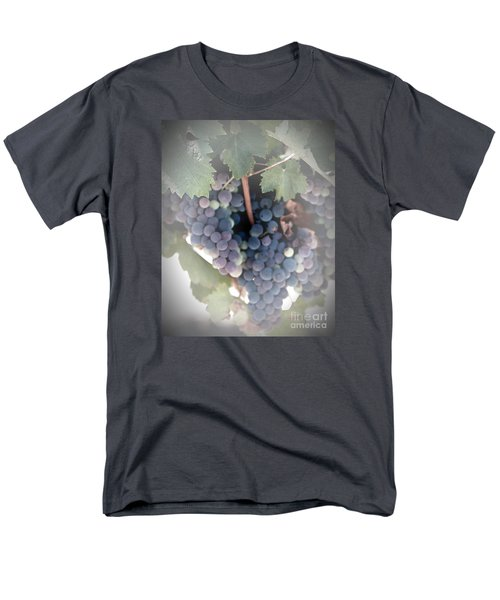 Grapes On The Vine I Men's T-Shirt  (Regular Fit) by Sherry Hallemeier