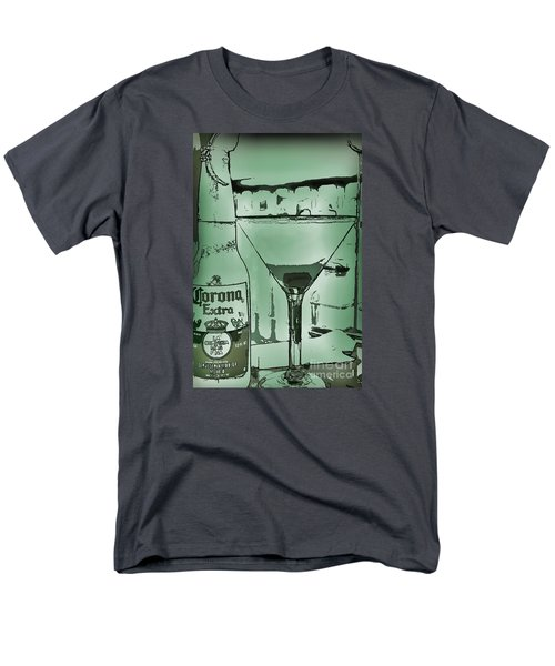 Men's T-Shirt  (Regular Fit) featuring the photograph Graphic Refreshments by Pamela Blizzard