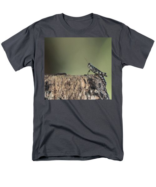Grasshopper Great River New York Men's T-Shirt  (Regular Fit) by Bob Savage