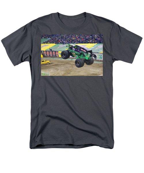 Grave Digger  Men's T-Shirt  (Regular Fit) by Michael Rucker