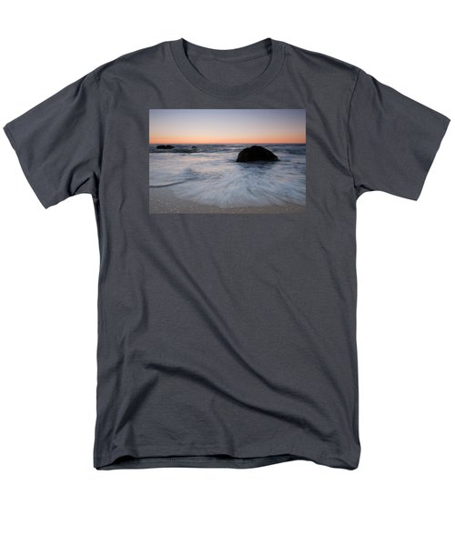 Gray Whale Cove State Beach Men's T-Shirt  (Regular Fit) by Catherine Lau