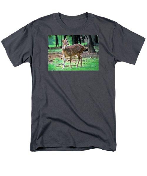 Grazing Men's T-Shirt  (Regular Fit) by Marion Johnson
