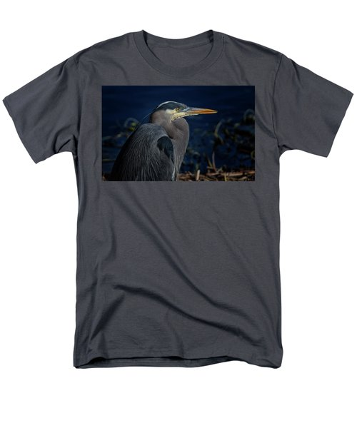 Men's T-Shirt  (Regular Fit) featuring the photograph Great Blue Heron by Randy Hall