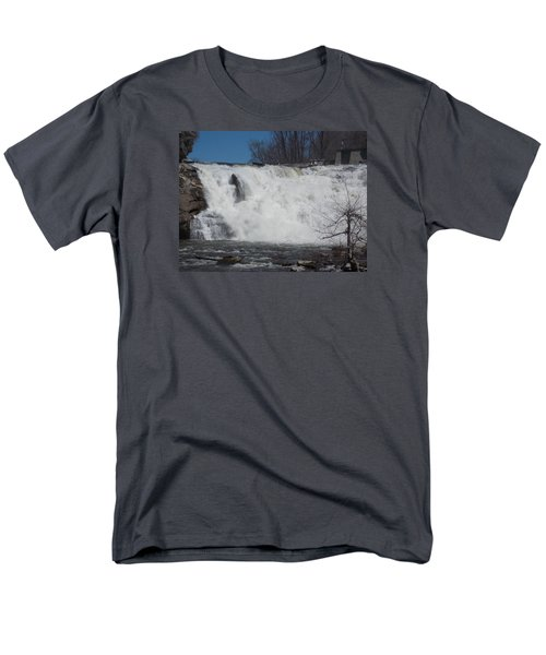 Great Falls In Canaan Men's T-Shirt  (Regular Fit) by Catherine Gagne