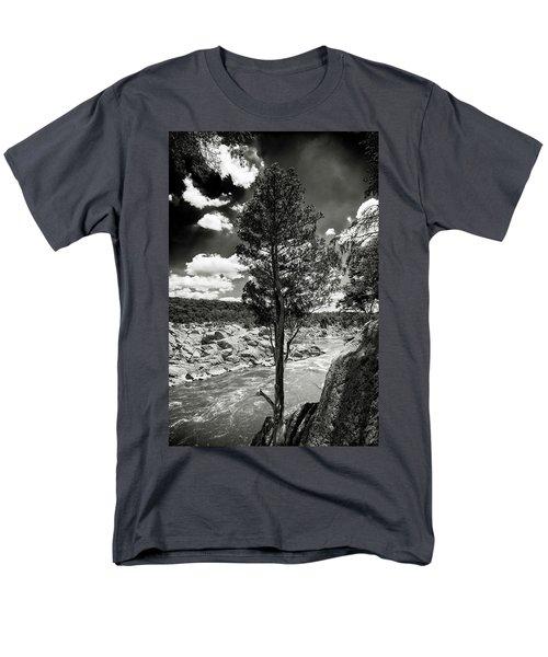 Great Falls Tree Men's T-Shirt  (Regular Fit) by Paul Seymour
