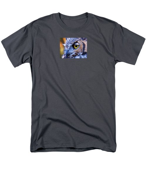 Men's T-Shirt  (Regular Fit) featuring the photograph Feather Eyelashes by Michele Penner