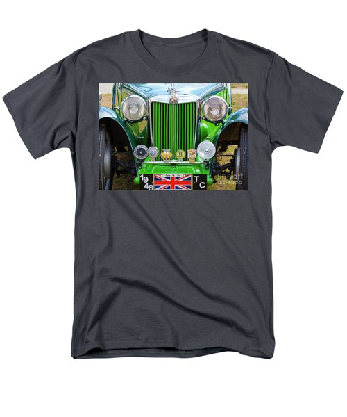 Men's T-Shirt  (Regular Fit) featuring the photograph Green 1948 Mg Tc by Chris Dutton