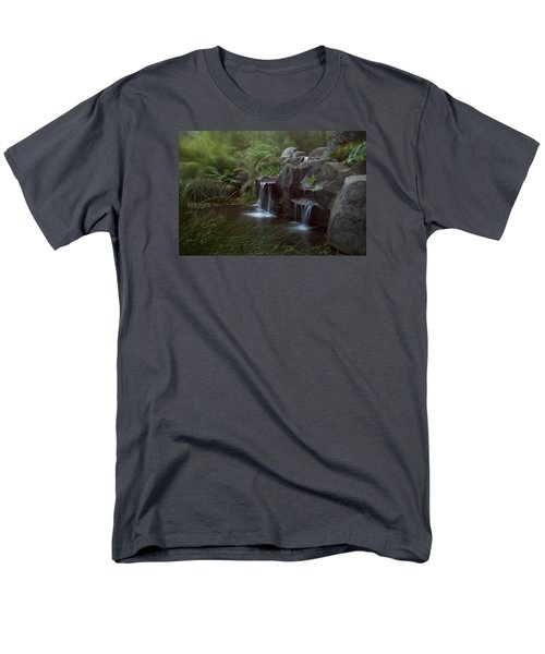 Green Garden Men's T-Shirt  (Regular Fit) by Catherine Lau