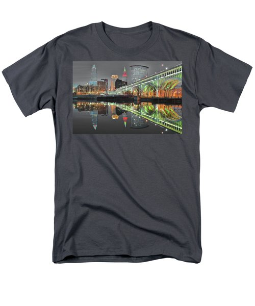 Men's T-Shirt  (Regular Fit) featuring the photograph Green Glow by Frozen in Time Fine Art Photography