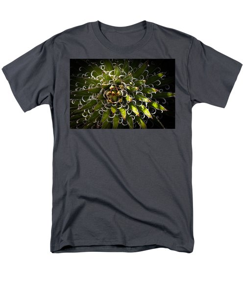 Green Plant Men's T-Shirt  (Regular Fit) by Catherine Lau
