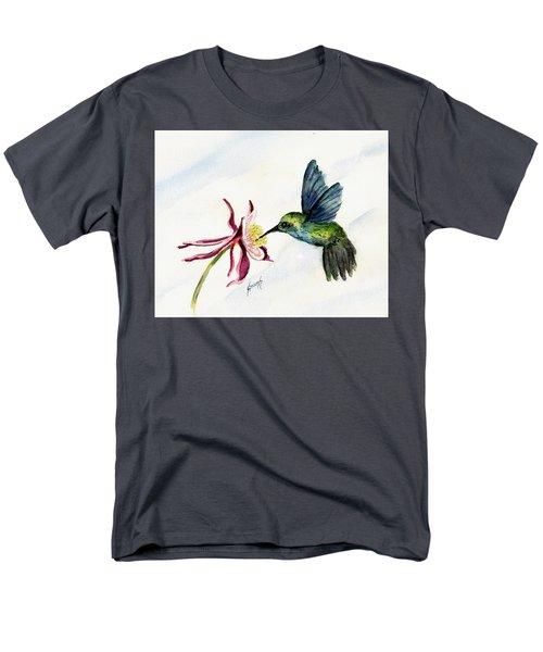 Green Violet-ear Hummingbird Men's T-Shirt  (Regular Fit) by Sam Sidders