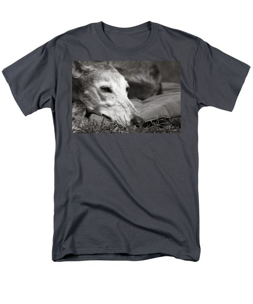 Men's T-Shirt  (Regular Fit) featuring the photograph Greyful by Angela Rath