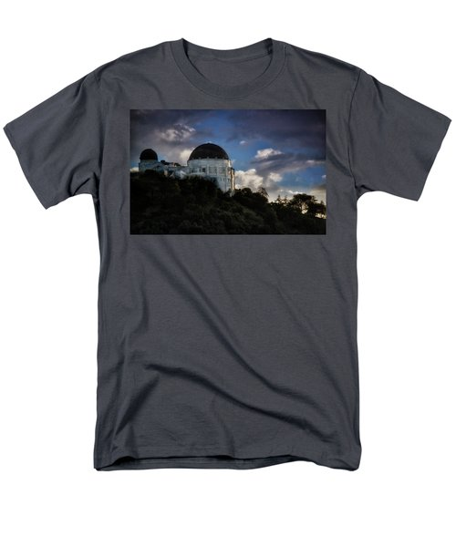 Men's T-Shirt  (Regular Fit) featuring the photograph Griffith Observatory by Joseph Hollingsworth