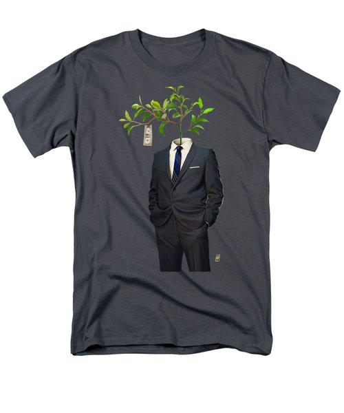 Men's T-Shirt  (Regular Fit) featuring the drawing Growth by Rob Snow