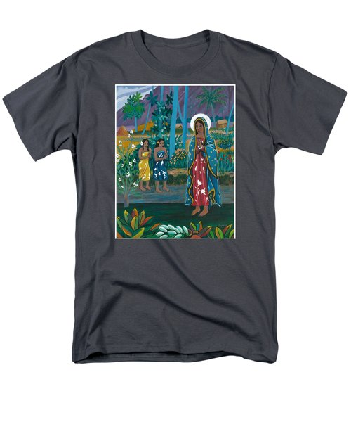 Guadalupe Visits Gauguin Men's T-Shirt  (Regular Fit) by James Roderick
