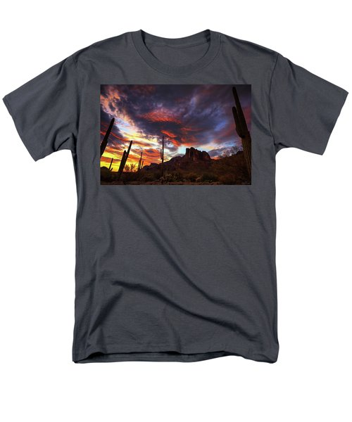 Guardians Of The Mountain Men's T-Shirt  (Regular Fit)