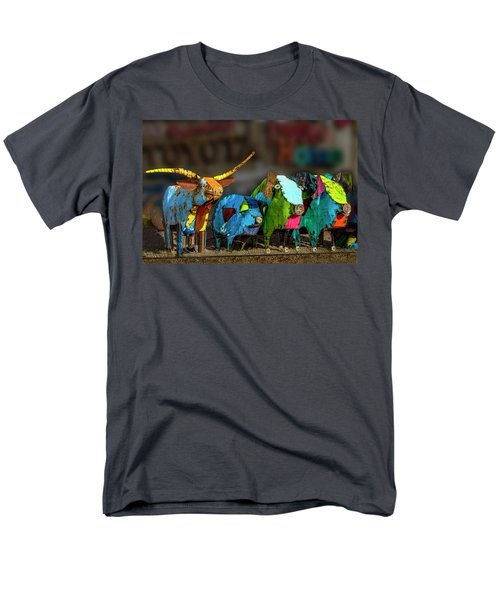 Men's T-Shirt  (Regular Fit) featuring the photograph Guess Who's Coming To Dinner by Paul Wear