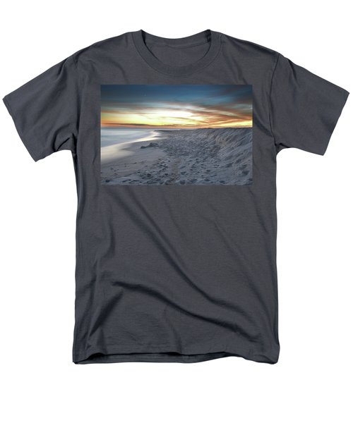 Men's T-Shirt  (Regular Fit) featuring the photograph Gulf Island National Seashore by Renee Hardison