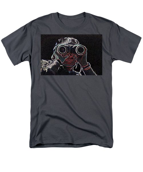Men's T-Shirt  (Regular Fit) featuring the mixed media Gulf War by Charles Shoup