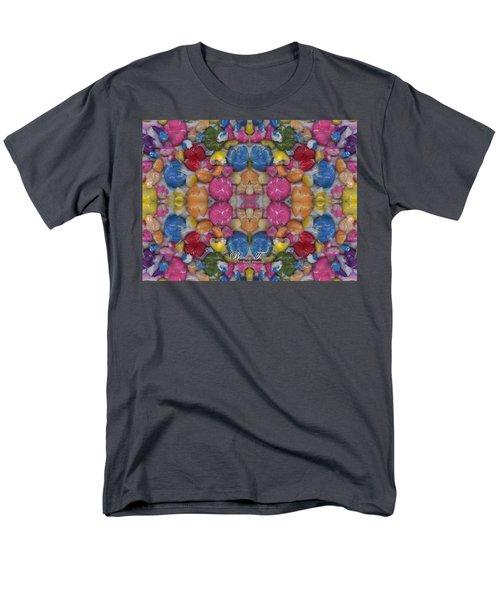 Gumballs #0000a_2 Men's T-Shirt  (Regular Fit) by Barbara Tristan