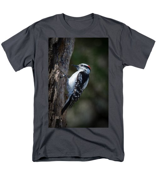 Downy Woodpecker Men's T-Shirt  (Regular Fit) by Kenneth Cole