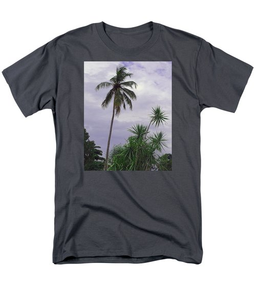 Men's T-Shirt  (Regular Fit) featuring the photograph Haiti Where Are All The Trees by B Wayne Mullins