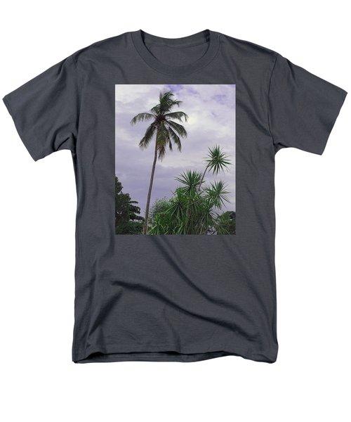 Haiti Where Are All The Trees Men's T-Shirt  (Regular Fit)