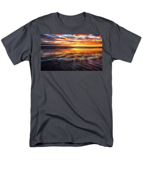 Men's T-Shirt  (Regular Fit) featuring the photograph Hampton Beach by Robert Clifford