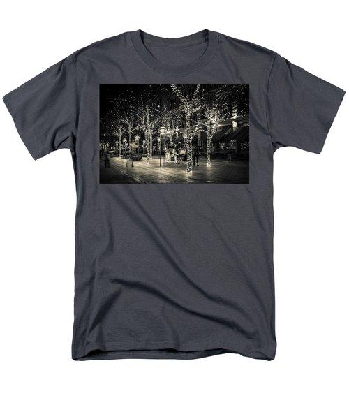 Handsome Cab In Monochrome Men's T-Shirt  (Regular Fit) by Kristal Kraft