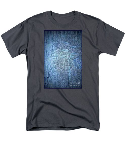 Men's T-Shirt  (Regular Fit) featuring the photograph Hanging In Blue by Pamela Blizzard