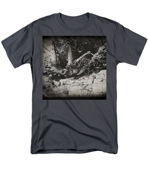 Men's T-Shirt  (Regular Fit) featuring the photograph Hanging On by Keith Elliott