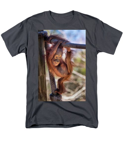 Hanging Out Men's T-Shirt  (Regular Fit) by Stephanie Hayes