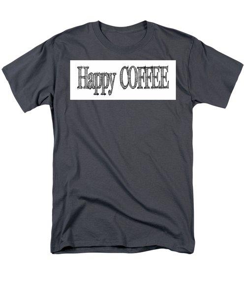 Happy Coffee Mug Men's T-Shirt  (Regular Fit)