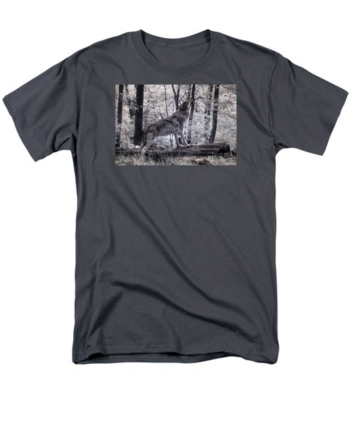 Happy Howlidays Men's T-Shirt  (Regular Fit) by William Fields