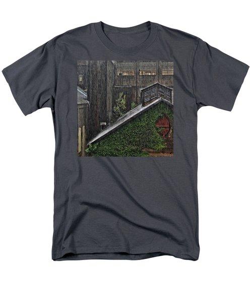 Hard Rain Men's T-Shirt  (Regular Fit) by DJ Florek