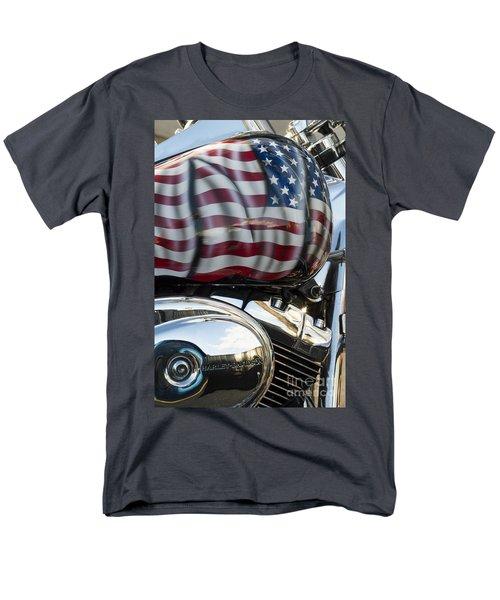 Harley Davidson 7 Men's T-Shirt  (Regular Fit) by Wendy Wilton