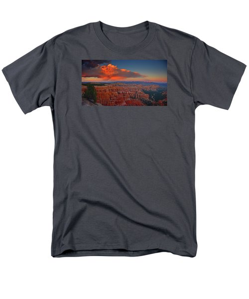 Harvest Moon Over Bryce National Park Men's T-Shirt  (Regular Fit) by Raymond Salani III
