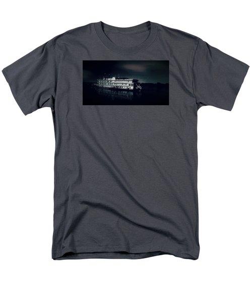 Haunted Dinner Cruise On The Columbia River  Men's T-Shirt  (Regular Fit) by Lisa Kaiser