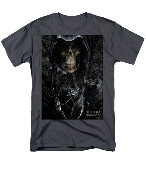 Men's T-Shirt  (Regular Fit) featuring the photograph Haunted Forest by Al Bourassa