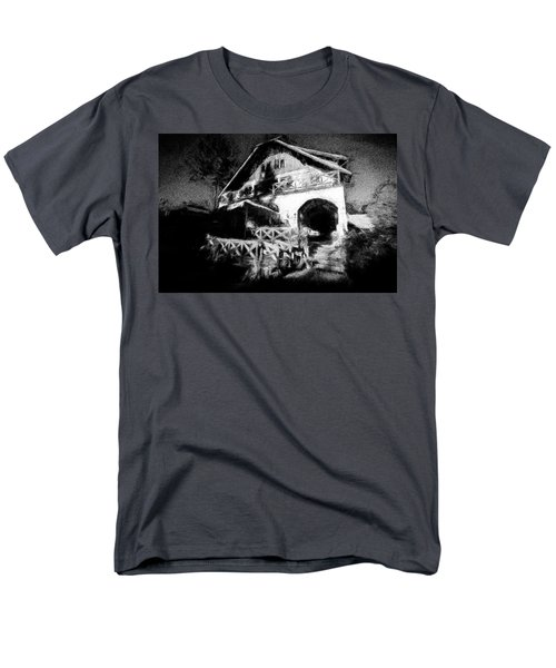 Haunted House Men's T-Shirt  (Regular Fit) by Celso Bressan