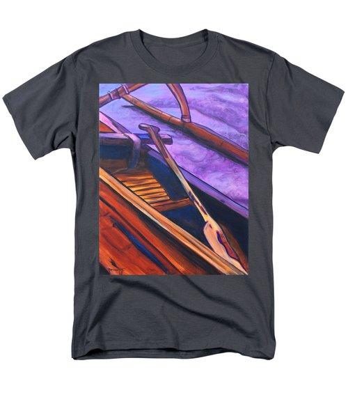 Hawaiian Canoe Men's T-Shirt  (Regular Fit) by Marionette Taboniar