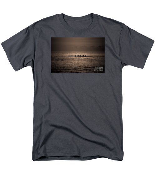 Men's T-Shirt  (Regular Fit) featuring the photograph Hawaiian Outrigger by Kelly Wade