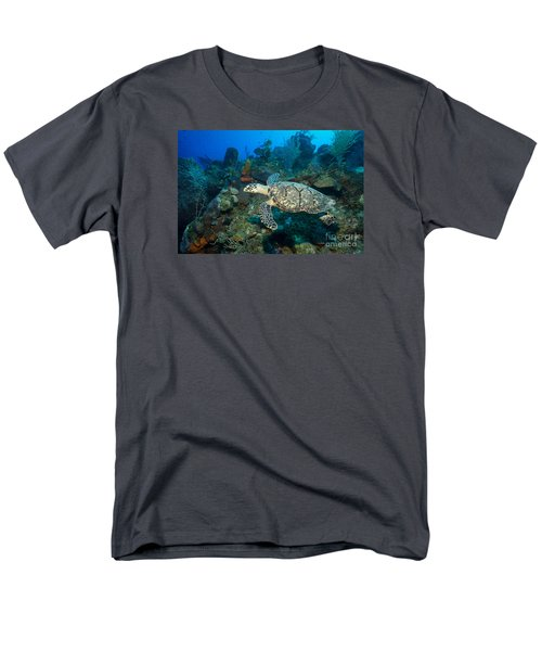 Men's T-Shirt  (Regular Fit) featuring the photograph Hawksbill Haunt by Aaron Whittemore