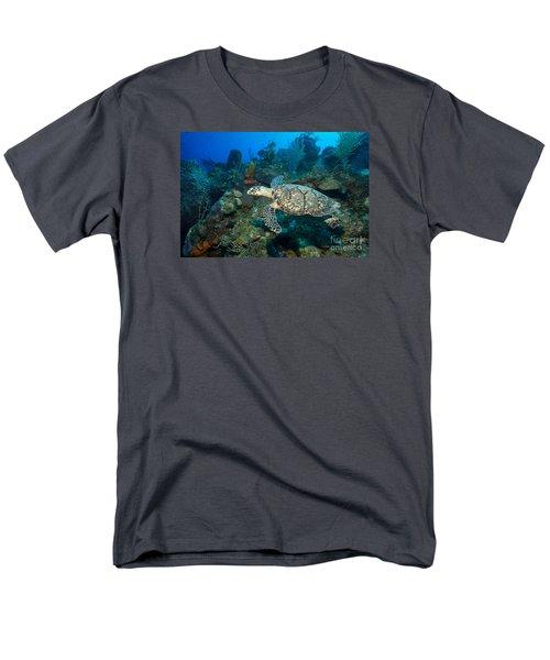 Hawksbill Haunt Men's T-Shirt  (Regular Fit) by Aaron Whittemore