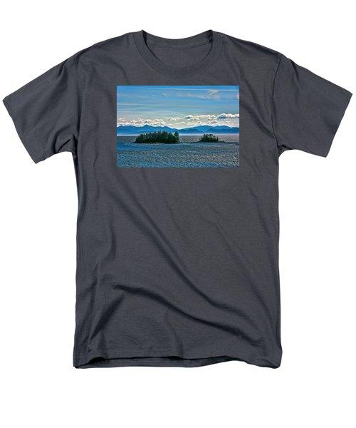Men's T-Shirt  (Regular Fit) featuring the photograph Hazy Alaskan Morning by Lewis Mann