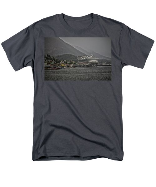 Hazy Day In Paradise  Men's T-Shirt  (Regular Fit) by Timothy Latta