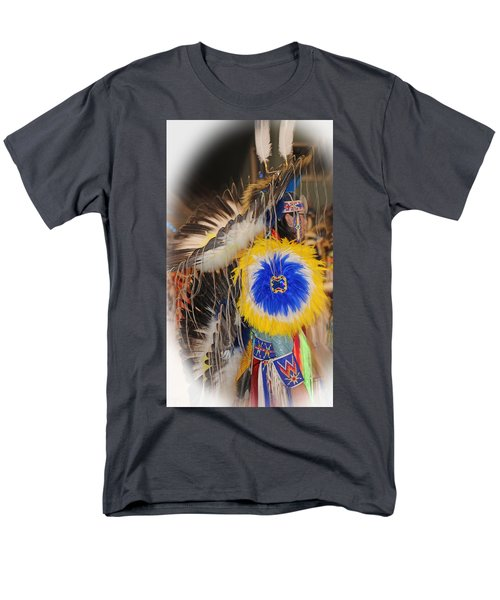 Head Dress Men's T-Shirt  (Regular Fit) by Audrey Robillard