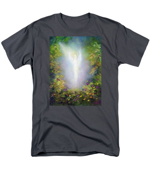 Healing Angel Men's T-Shirt  (Regular Fit) by Marina Petro