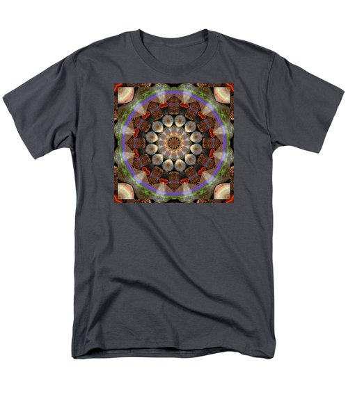 Men's T-Shirt  (Regular Fit) featuring the photograph Healing Mandala 30 by Bell And Todd